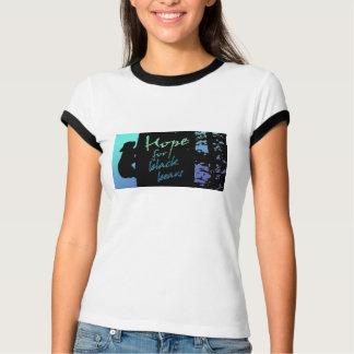Die Hoffnung der Frauen für schwarze Bärn-lt Blue T-Shirt