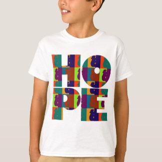 Die Hoffnungs-grundlegendes T-Stück der Kinder T-Shirt