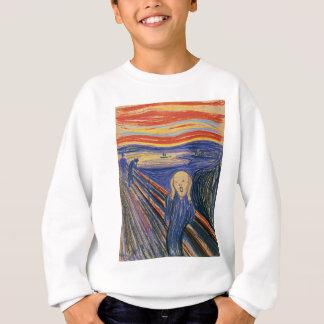 Die hohe Qualität des Schrei-(Pastell 1895) Sweatshirt