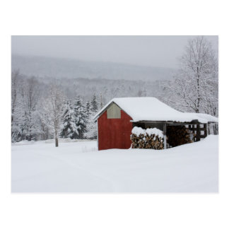 Die Holzhalle Postkarte
