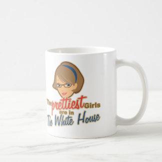 Die hübschsten Mädchen sind im Weißen Haus Kaffeetasse