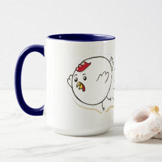 Die Huhn-Ball-Tasse! Tasse