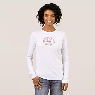 Die Hülsen-T - Shirt-Janes Austen der Frauen lange