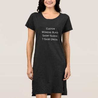 Die Hülsen-T - Shirt-Kleid der kundenspezifischen Kleid