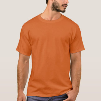 Die Hülsen-T - Shirt SICHERHEITS-ORANGE der Männer