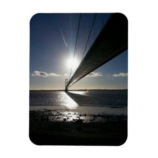 Die Humber Brücke Magnet