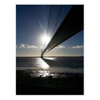Die Humber Brücke Postkarte