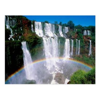 Die Iguaçu-Wasserfälle Postkarten