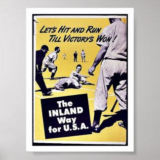 Die inländische Weise für USA Plakatdrucke