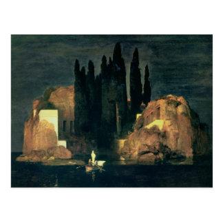 Die Insel der Toten, 1880 (Öl auf Leinwand) Postkarte