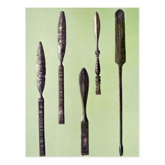 Die Instrumente des Oculists, c.270 Postkarte