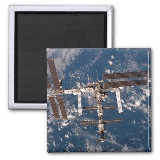 Die internationale Weltraumstation 15 Quadratischer Magnet