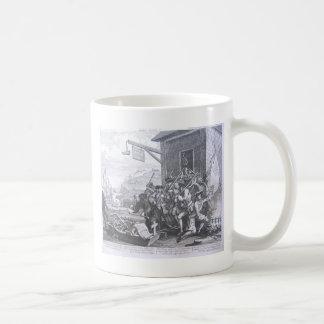 Die Invasion, Frankreich durch William Hogarth Kaffeetasse