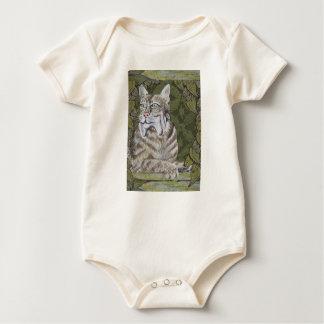 Die ist eine wilde Katze Onsie Baby Strampler