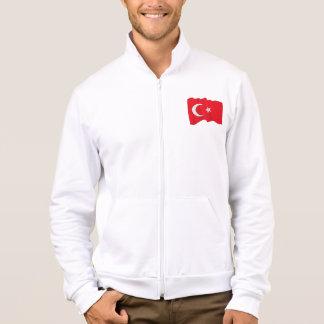 Die Jacke der türkischen Flaggen-Männer