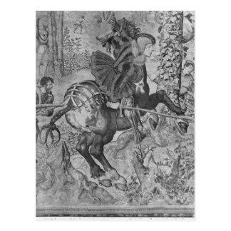 Die Jagden von Maximilian, Steinbock Postkarte