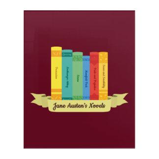 Die Jane Austens Romane III Acryldruck