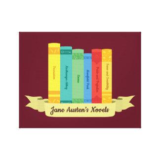 Die Jane Austens Romane III Leinwanddruck