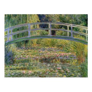 Die japanische Brücke durch Claude Monet Postkarten