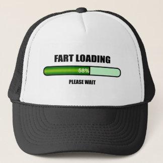 Die jetzt ladende bitte warten Sie Furz Truckerkappe