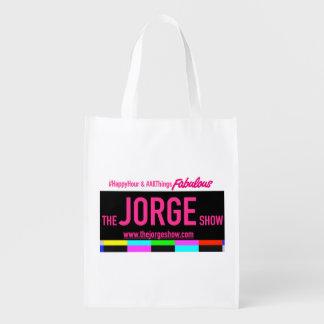 Die Jorge-Show-wiederverwendbare Tasche Wiederverwendbare Tragetaschen