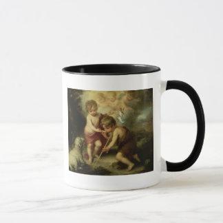Die Jungen mit der Muschel, c.1670 Tasse