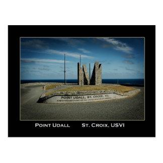Die Jungferninseln Punkt Udall St. Croix US Postkarte
