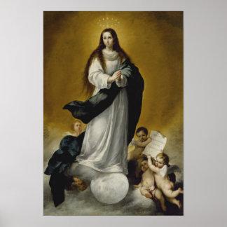 Die Jungfrau der Unbefleckten Empfängnis Poster
