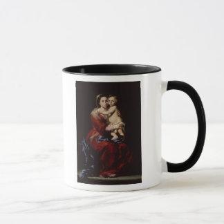 Die Jungfrau des Rosenbeetes, c.1650 Tasse