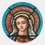 Die Jungfrau Mary Stickers