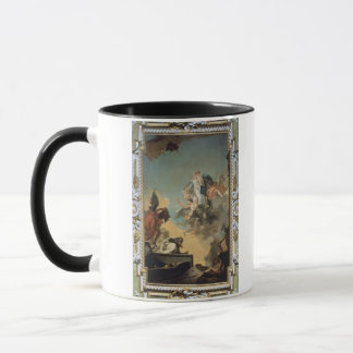 Die Jungfrau von Carmel das Schulterblatt gebend Tasse