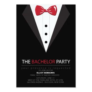 Die Junggeselle-Party Einladung