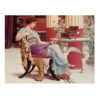 Die Juwel-Schatullen-schöne Kunst Postkarte
