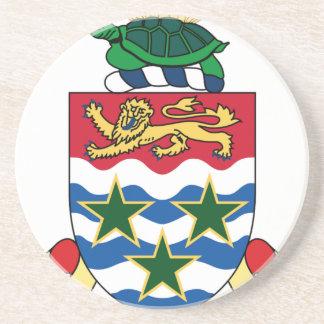 Die Kaimaninseln-Emblem-Wappen Untersatz