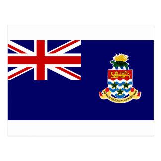 Die Kaimaninseln-Flagge Postkarte