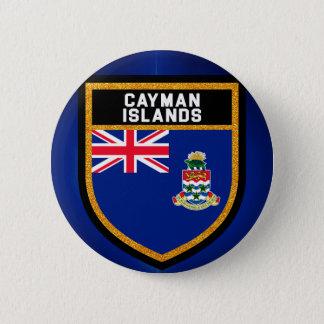 Die Kaimaninseln-Flagge Runder Button 5,7 Cm