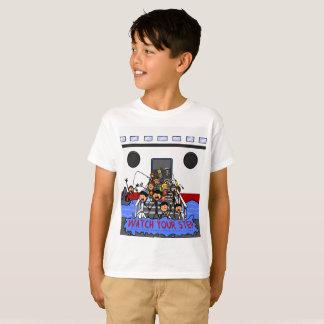 Die Kaimaninseln-Kreuzschiff-Besucher T-Shirt