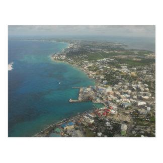 Die Kaimaninseln sieben Meilen-Strand Postkarte
