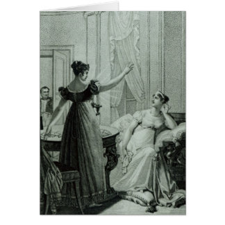 Die Kaiserin Josephine deckt prophezeien auf Karte
