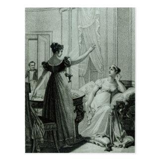 Die Kaiserin Josephine deckt prophezeien auf Postkarte