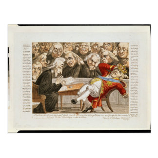 Die Kaiserverordnung zu George III Postkarte