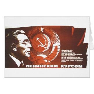 Die kalter Kriegs-Sowjetunions-Propaganda-Plakate Karte
