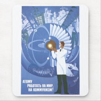 Die kalter Kriegs-Sowjetunions-Propaganda-Plakate Mauspad