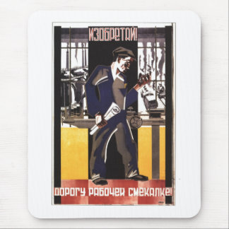 Die kalter Kriegs-Sowjetunions-Propaganda-Plakate Mauspads