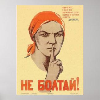 Die kalter Kriegs-Sowjetunions-Propaganda-Plakate