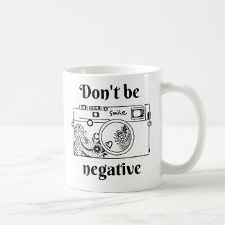 Die Kamera (positiv) Kaffeetasse