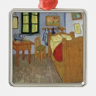 Die Kammer von Vincent van Gogh (The room) Silbernes Ornament