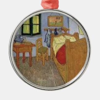 Die Kammer von Vincent van Gogh (The room) Silbernes Ornament