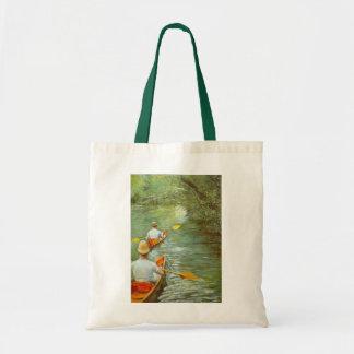 Die Kanus, Perissoires durch Gustave Caillebotte Tragetasche