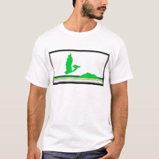 Die Kap-Breton-Insel Flagge T-Shirt